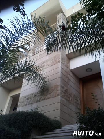 Villa a vendre achat grand casablanca for Garage 4x4 ain